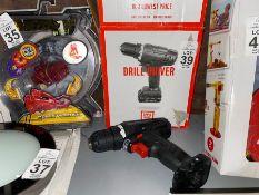 CORDLESS DRILL DRIVER (NO POWER LEAD)