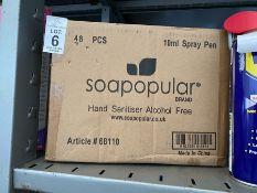 BOX OF 48 SOAPOPULAR HAND SPRAYS