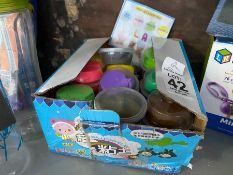 BOX OF KIDS PLAY CLAY