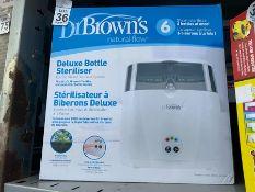 DR BROWN'S DELUXE BOTTLE STERILISER