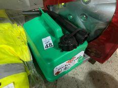 CARPLAN 5L GREEN PETROL CAN (NEW)
