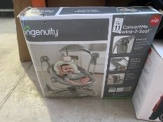 INGENUITY CONVERT ME SWING TO SEAT FOR BABY