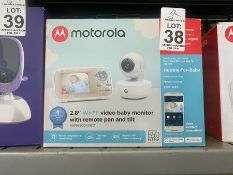 "MOTOROLA 2.8"" WI FI VIDEO BABY MONITOR"
