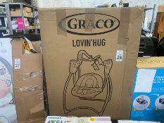GRACO LOVIN HUG BABY ROCKER