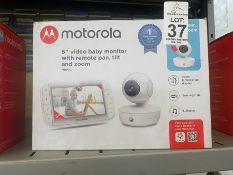 "MOTOROLA 5"" PORTABLE DIGITAL VIDEO BABY MONITOR"