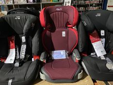 GRACO JUNIOR MAXI CAR SEAT (GROUP 2 & 3) (4-12YRS) (15-36KG) (NEW)