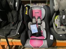 MY CARSIT NANIA D12 CAR SEAT (GROUP 1 & 2) (0-25KG) (NEW)