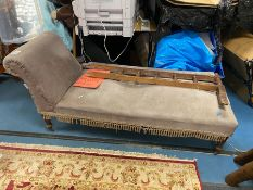 EDWARDIAN CHAISE LOUNGE FOR RESTORATION