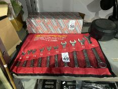 NEW 10PC COMBINATION WRENCH SET