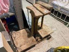 JOHN WHITE AND SONS VINTAGE WEIGHING SCALES