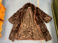 REAL FUR COAT FROM M JOBLE BELFAST