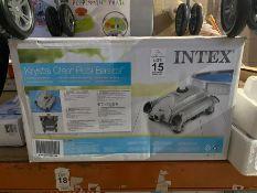 INTEX KRYSTAL CLEAR POOL CLEANER