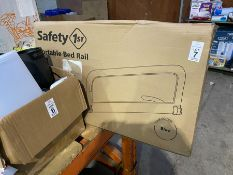 CHILDS SAFETY FIRST PORTABLE BED RAIL EX DISPLAY