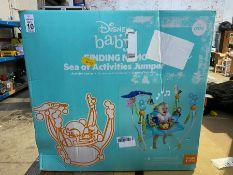 DISNEY BABY FINDING NEMO SEA OF ACTIVITIES JUMPER EX DISPLAY
