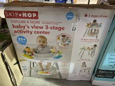 SKIP AND HOP BABY'S VIEW 3 STAGE ACTIVITY CENTER EX DISPLAY