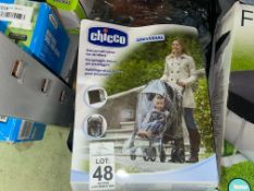 CHICCO DELUXE UNIVERSAL RAIN COVER FOR BUGGIES
