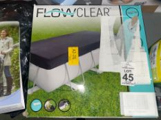 FLOW CLEAR 3.96M POOL COVER