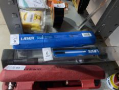 """LASER 1/2"""" TORQUE WRENCH (NEW)"""