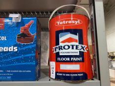 TETROSYL PROTEX GREY FLOOR PAINT (NEW)