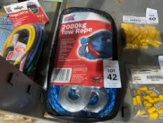AUTOCARE 2000KG TOW ROPE (NEW)