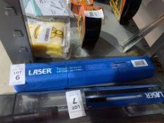 """LASER 3/8"""" TORQUE WRENCH (NEW)"""