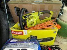 RYOBI 2300W ELECTRIC CHAINSAW (WORKING)