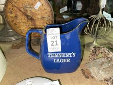 TENNENTS LAGER PUB JUG