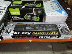 MQ 61 KEY BANDSTAND ELECTRONIC KEYBOARD