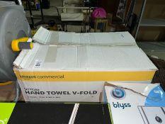 RECYCLED HAND TOWEL V FOLD