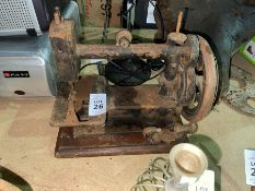 SMALL VINTAGE SEWING MACHINE
