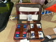 VINTAGE CASE OF PLAYING CARDS