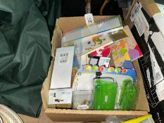 BOX OF GOOD STATIONARY ITEMS
