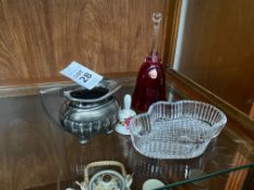 4X ASSORTED COLLECTABLE ITEMS INC. SILVER PLATE