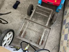 STAINLESS STEEL FISHING TROLLEY
