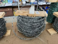 FULL ROLL OF BARBED WIRE