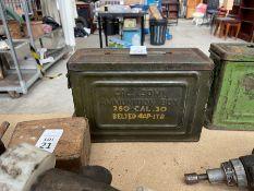 OLD AMMUNITION BOX