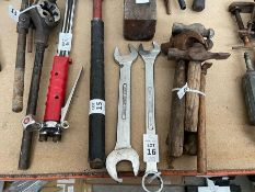 2X BRITOOL SPANNERS