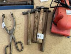 LOT OF 4 HAMMERS