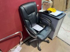HIGH BACK EXECUTIVE OFFICE CHAIR (EX-DISPLAY)