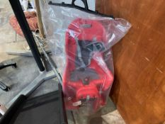 RALEIGH CHILD SEAT WITH QR BRACKET - RED