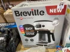 BREVILLE MOSTRA EASY MEASURE 12 CUP COFFEE MAKER (WORKING)