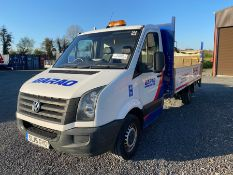 2015 VW CRAFTER FLATBED VAN WITH TAILIFT 163,711 MILES - NO MOT - (FULLY RUNNING) HAS REVERSING