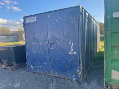 20 X 8 BLUE SHIPPING CONTAINER