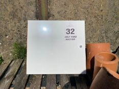 NEW ELECTRIC BOX (NO HAMMER VAT)
