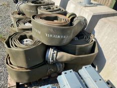"""5 X 20FT ROLLS OF 6"""" PIPE WITH FITTINGS (HAMMER VAT ON THIS ITEM)"""