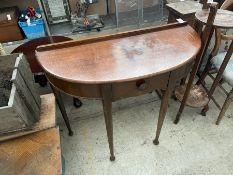 OLD HALF MOON HALL TABLE