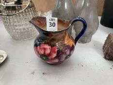 FLORAL PAINTED VASE BY H & K TUNSTALL