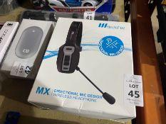 WILLFUL MX DIRECTIONAL MIC DESIGN WIRELESS HEADPHONES