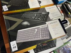 2X ADVENT KEYBOARDS