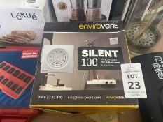 ENVIROVENT SILENT 100 BATHROOM EXTRACTOR FAN